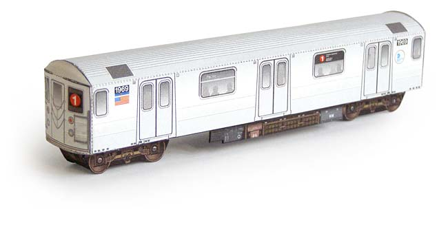 Irt subway train model