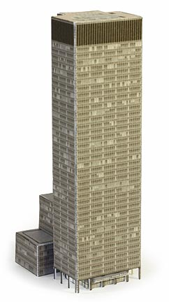 Seagram Building model