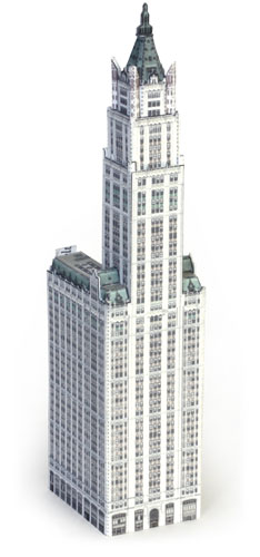 Woolworth Building model